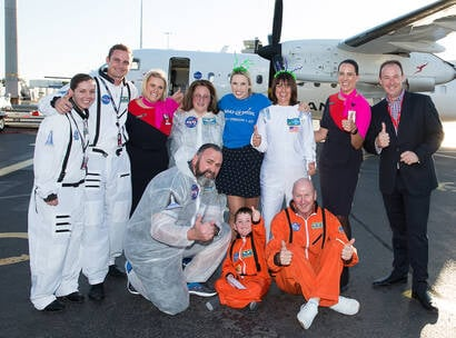 Make A Wish Australia Children's Charity - Dwayne on his wish to go to the moon with the team from Qantas