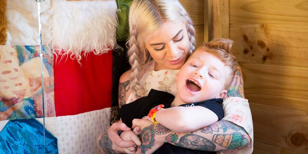 Make-A-Wish wish kid Levi
