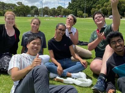 Curtin University students
