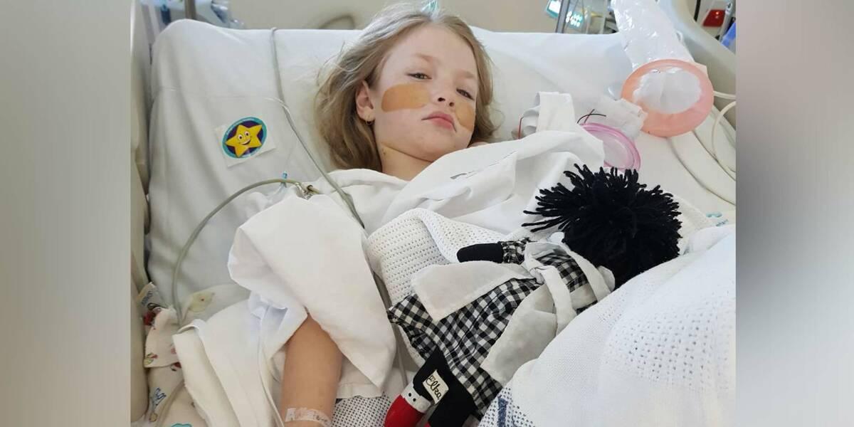 Make-A-Wish wish kid Scarlett seriously ill in hospital