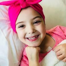Make-A-Wish Australia Wish kid Poppy