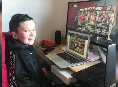 Make-a-Wish Australia wish kid Lucas
