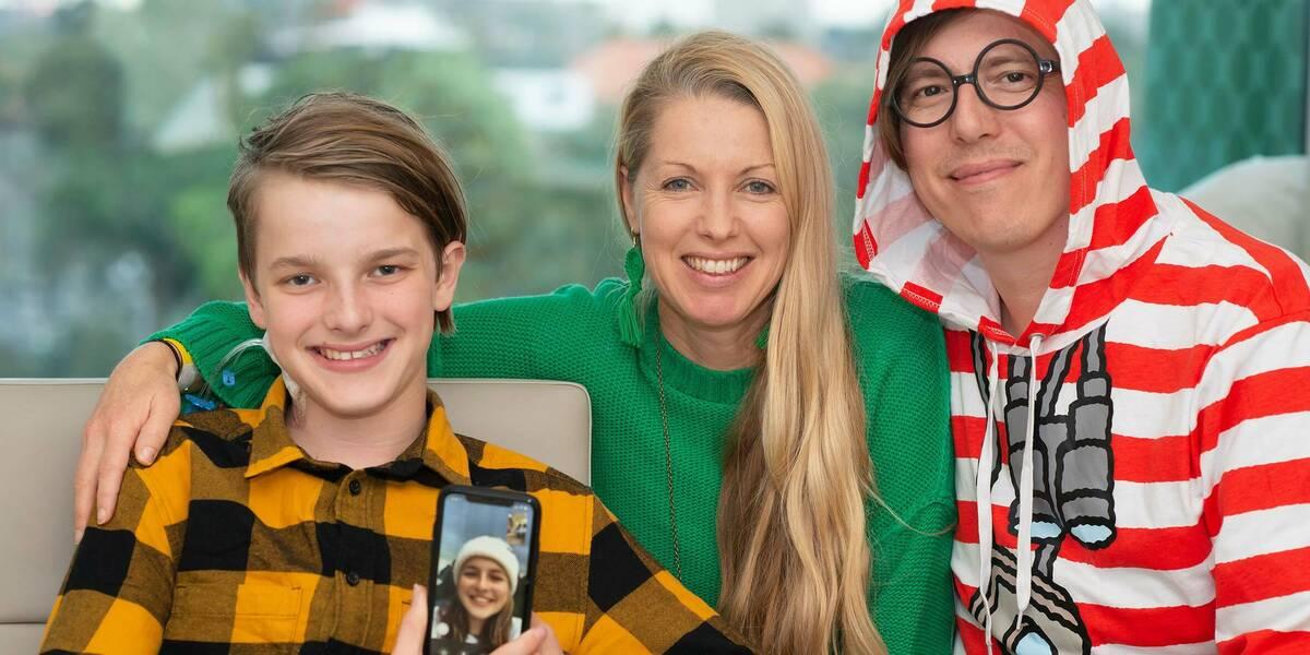 Make-A-Wish Australia wish kid Jazziah