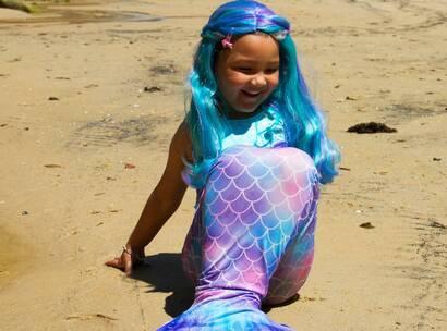 Make-A-Wish Australia wish kid Aysha