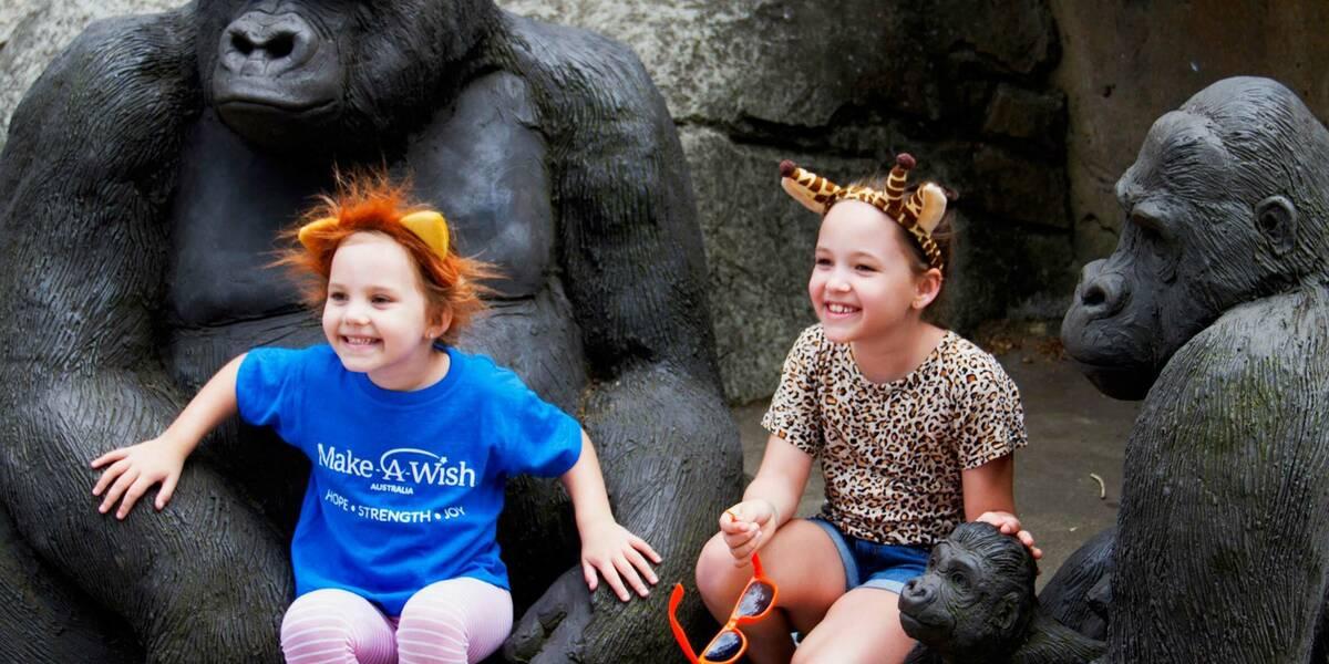 Make-A-Wish Australia wish kid Lailah