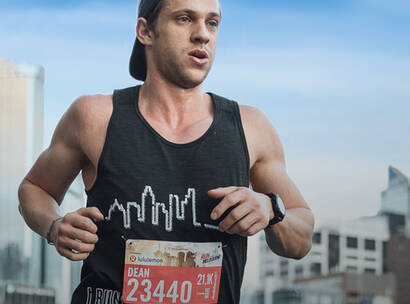 Make A Wish Australia Children's Charity - Team Wish running in Run Melbourne