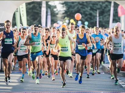 Make A Wish Australia Children's Charity - Team Wish running in the Australian Running Festival
