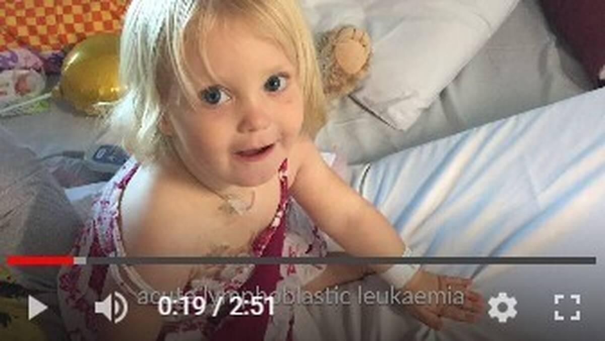 Make-A-Wish Australia wish kid Juniper in hospital