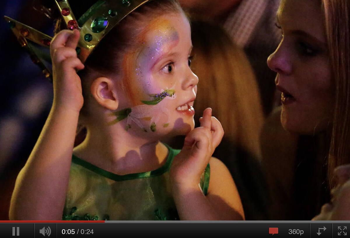 Make-A-Wish Australia wish kid Scarlett on her unicorn wish with her mum